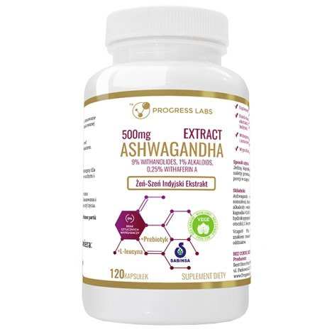 Ashwagandha Extract 500mg 9% Withanolides